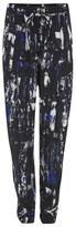 McQ by Alexander McQueen Women's Richter Print Loose Trousers Cobalt Blue