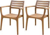 One Kings Lane Danish Stacking Chairs, Set of 4