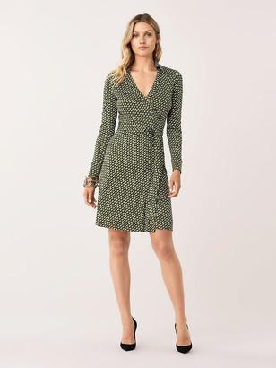 Diane von Furstenberg New Jeanne Two Silk-Jersey Wrap Dress