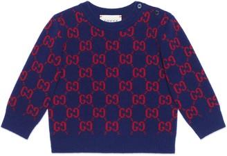 Gucci Baby GG wool jumper