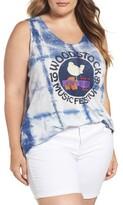 Lucky Brand Plus Size Women's Woodstock Graphic Tank