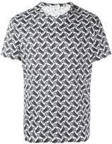 Salvatore Ferragamo motorcycle print T-shirt