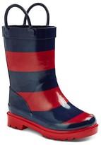 Toddler Boy Cherokee® Rugby Stripe Rain Boot