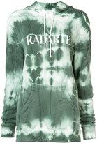Rodarte tie-dye logo hoodie - women - Cotton/Polyester - S