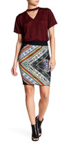 Rachel Roy Jacquard Knit Fitted Skirt
