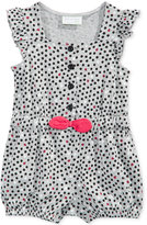 First Impressions Ladybug-Print Cotton Romper, Baby Girls (0-24 months), Only at Macy's