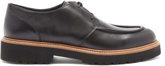 Rupert Sanderson Vesper Leather Derby Shoes - Black