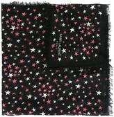 Saint Laurent 'Étoiles' large printed scarf - women - Silk/Cotton/Cashmere - One Size