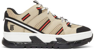 Burberry Beige Union Sneakers