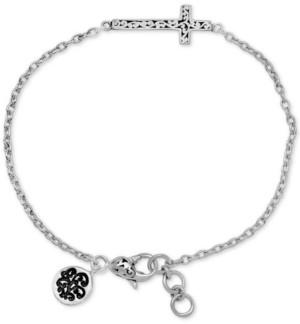 Lois Hill East-West Cross Link Bracelet in Sterling Silver