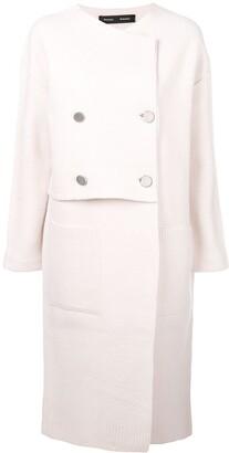 Proenza Schouler oversized buttoned-up coat