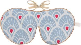 Holistic Silk Limited Edition Eye Mask Tallentire House Forget Me Not Feather