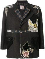Antonio Marras brocade tapestry patch jacket