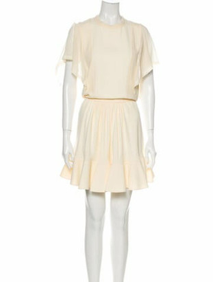 Chloé Crew Neck Mini Dress w/ Tags