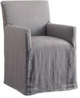 One Kings Lane Keagan Slipcover Chair, Pewter