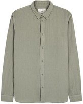 Folk Taupe Cotton Overshirt
