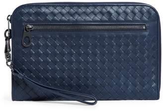 Bottega Veneta Small Leather Intrecciato Document Case
