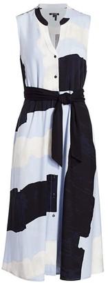 Nic+Zoe Petite In The Clouds Sleeveless Midi Dress