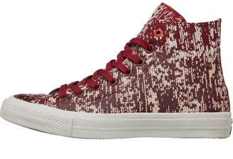 Converse Chuck Taylor All Star II Rubber Hi Trainers Red Block/Black