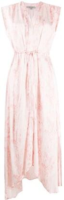 AllSaints Tate snakeskin-print dress