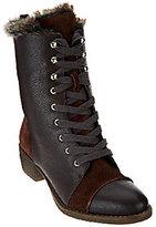 Aimee Kestenberg Leather Lace-up Faux Fur Boots - Leilani