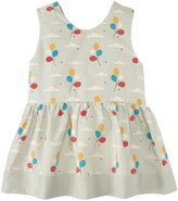 Little Green Radicals Balloons Diamond Dress (Baby) - Pale Aqua-6 Months