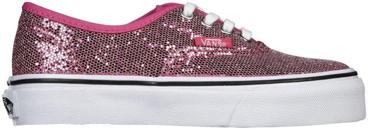 Vans Authentic - Pink Glitter-10.5
