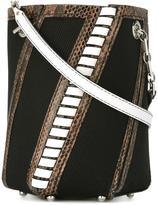Proenza Schouler Hex striped bucket bag - women - Leather/Cotton - One Size