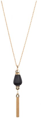 Bob Mackie Fluted Tassel Necklace