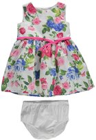 "Carter's Baby Girls' ""Floral Poplin"" Dress with Diaper Cover"
