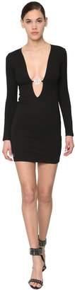 Philipp Plein 29 Elegant Viscose Blend Mini Dress