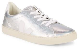 Veja Girl's Esplar Metallic Leather Sneakers
