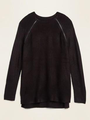 Old Navy Maternity Rib-Knit Nursing Tunic Sweater