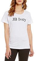 "Heritage J.B. Ivey"" Logo Short Sleeve Tee"