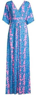 Lilly Pulitzer Parigi Printed Maxi Dress