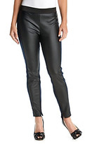 T Tahari Marline Faux Leather Pant