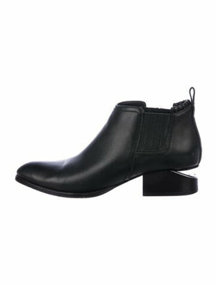 Alexander Wang Kori Leather Chelsea Boots Black
