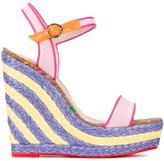 Sophia Webster 'Lucita Sand' wedge sandals