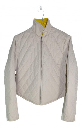 Hermes Yellow Polyester Jackets