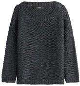 Steffen Schraut Chunky Knit Metallic Pullover