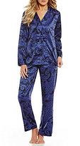 Lauren Ralph Lauren Paisley Satin Pajamas
