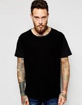 Dr Denim Russ T-shirt Black Reverse