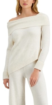 GUESS Layla Off-the-Shoulder Sweater