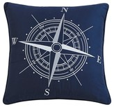 Thomas Paul Compass Nautical Throw Pillow (18x18) - Seedlings