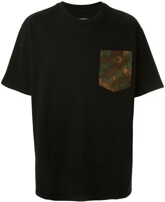Just Don Jungle applique T-shirt