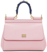 Dolce & Gabbana Pink Mini Miss Sicily Bag