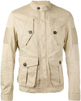 DSQUARED2 flap pocket jacket - men - Cotton/Spandex/Elastane - 50