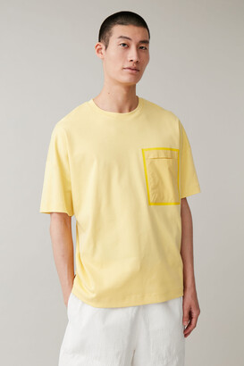 Cos Oversized T-Shirt With Patch Pocket
