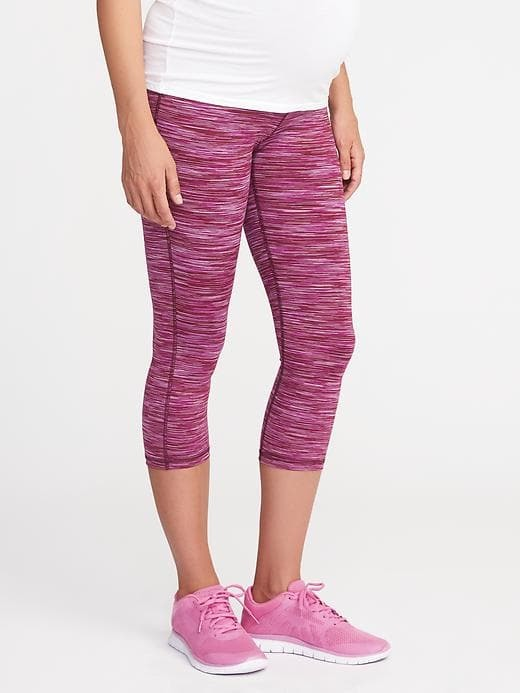 Old Navy Maternity Fitted Compression Crops