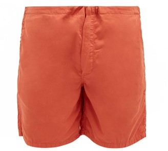 Cleverly Laundry - House Cotton-sateen Shorts - Orange